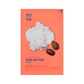 Holika Holika Pure Essence Mask Sheet - Shea Butter harga terbaik 22000