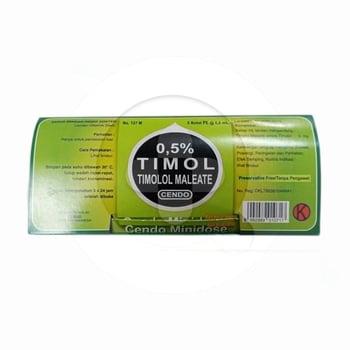 Cendo Timol 0,5% Minidose Tetes Mata 0,6 ml  harga terbaik