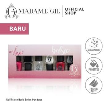 Madame Gie Nail Matte Basic 1 set  harga terbaik 36100