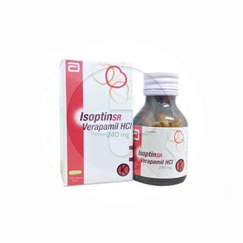 Isoptin SR Kaplet adalah obat untuk membantu menurunkan tekanan darah tinggi.