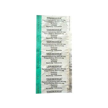 Tremenza Tablet adalah obat untuk obat ini digunakan untuk meringankan gejala-gejala flu karena alergi pada saluran pernafasan bagian atas yang memerlukan dekongestan nasal dan antihistamin