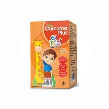 Curcuma Plus Go Talz Tablet Hisap Rasa Jeruk  harga terbaik
