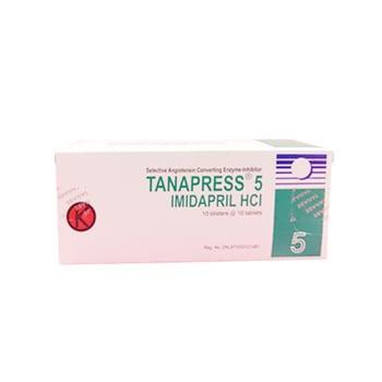 Tanapress Tablet 5 mg (1 Strip @ 10 Tablet) adalah obat untuk hipertensi.