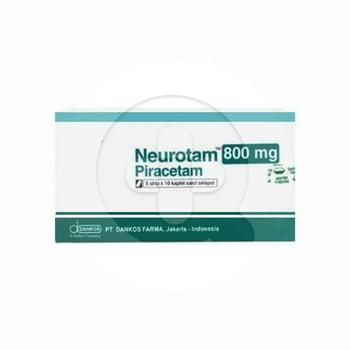 Neurotam kaplet adalah obat untuk mengatasi kemunduran daya pikir yang berkaitan dengan penuaan