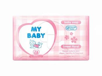 My Baby Soap Sweet Floral 70 g harga terbaik 4068