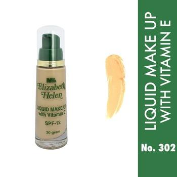 Elizabeth Helen Foundation Liquid Make Up With Vit E 30 g - 302 harga terbaik 169200
