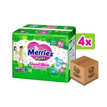 Merries Pants Good Skin XXL 28's - 1 Karton harga terbaik 268600