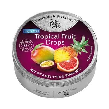 Cavendish & Harvey Sugar Free Tropical Fruit Drops 175 g harga terbaik 45000