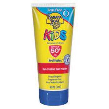 Banana Boat Kids Tear Free Sunscreen Lotion SPF50 90 ml harga terbaik 183700