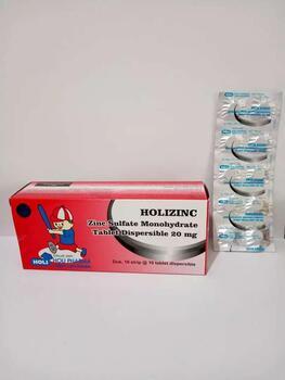 Holizinc tablet adalah obat yang digunakan sebagai terapi pelengkap untuk mengobati diare anak