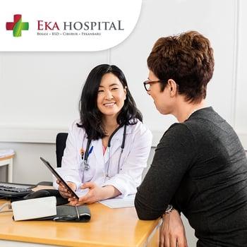 Medical Check Up (MCU) Gold Wanita di Eka Hospital, BSD, Tangerang Selatan