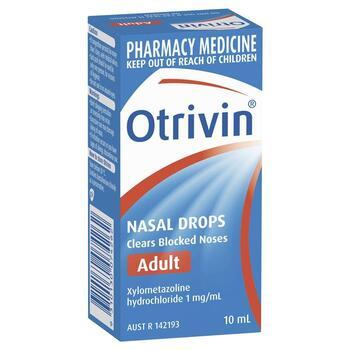 Otrivin Nasal Drops 10 ml
