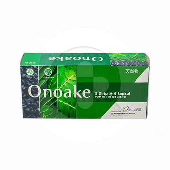 Onoake kapsul digunakan untuk membantu menjaga kesehatan.