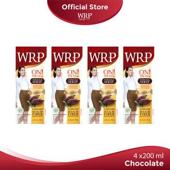 WRP On The Go Chocolate 4 x 200 mL harga terbaik 39600