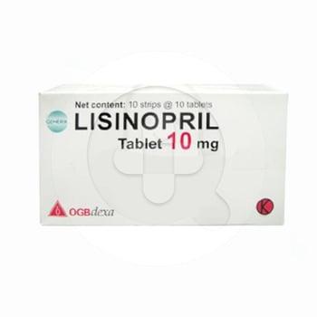 Lisinopril OGB Dexa Medica Tablet 10 mg  harga terbaik 11008