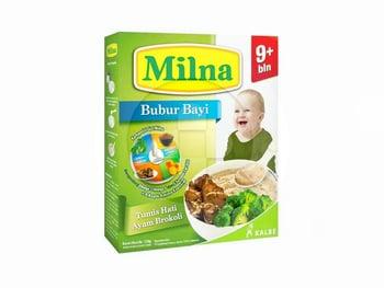 Milna Bubur Bayi 9 Bulan ke Atas Rasa Tumis Hati Ayam Brokoli 120 g harga terbaik 15383