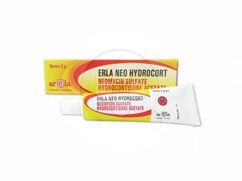 Erla Neo Hydrocort krim adalah obat untuk mengatasi infeksi bakteri pada kulit dan peradangan.
