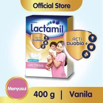 Lactamil Lactasis Susu Ibu Menyusui Vanila