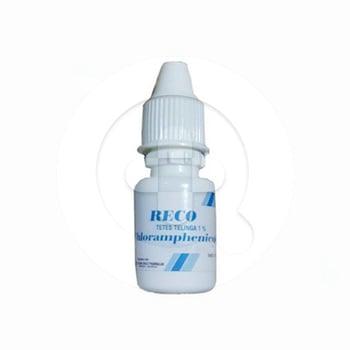 Reco tetes 10 ml adalah obat tetes mata untuk mengobati konjungtivitis akibat bakteri.