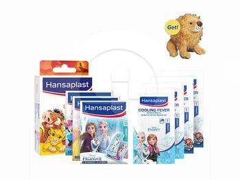 Hansaplast Disney Special Package Edition harga terbaik 100700