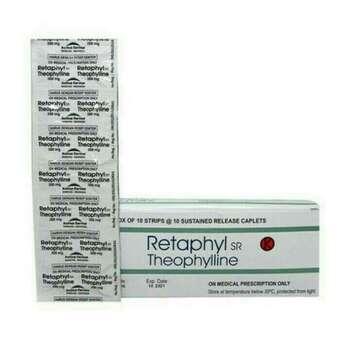 Retaphyl SR kaplet adalah obat yang digunakan untuk meringankan serangan asma bronkial