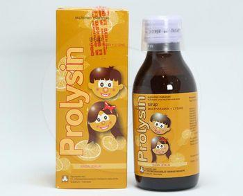 Prolysin Sirup 120 ml harga terbaik