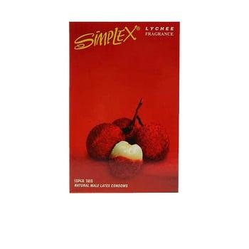 Simplex Kondom Lychee Fragrance  harga terbaik
