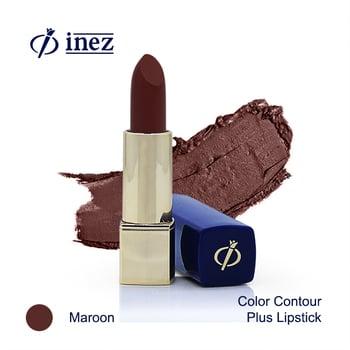 Inez Color Contour Plus Lipstick - Maroon harga terbaik