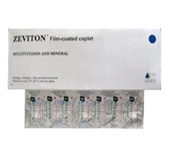 Zeviton kaplet merupakan suplemen untuk mencegah dan mengobati kekurangan vitamin dan mineral.
