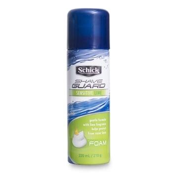 Schick Shave Guard Foam Sensitive Lime 220 ml/210 g harga terbaik 50900