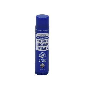 Dr. Bronner's Organic Peppermint Lip Balm 4 g harga terbaik 77900