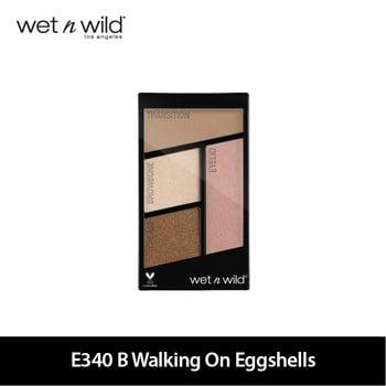 Wet N Wild Color Icon Eyeshadow Quads E340 B Walking On Eggshells harga terbaik 109000