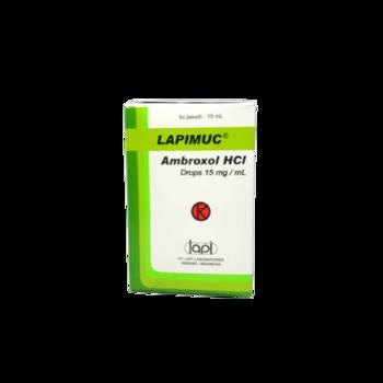Lapimuc drop adalah obat untuk mengencerkan dahak (sekretolitik).