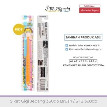 STB Higuchi 360do Brush Kids / Sikat Gigi Jepang - Orange harga terbaik 85000