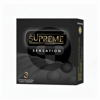 Kondom Supreme Sensation  harga terbaik