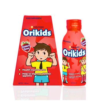 Orikids Strawberry Sirup 100 mL harga terbaik