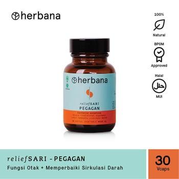 Herbana Relief Sari Pegagan - 30 Kapsul harga terbaik 69000