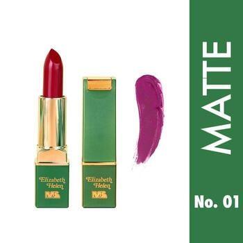 Elizabeth Helen Matte Lipstick Mahmood Saeed 4 g - 01 harga terbaik 51800