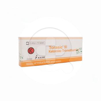 Torasic tablet adalah obat untuk meredakan nyeri ringan hingga sedang