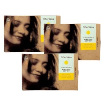 Herbana Balance Madia Menstrual Comfort - Kaplet 10  harga terbaik 95000