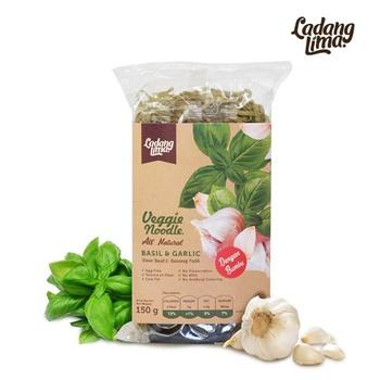 Ladang Lima Mie Basil & Garlic 150 g  harga terbaik 20000