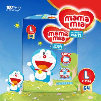 Mamamia Baby Diapers Pants L54 harga terbaik 87500