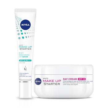 NIVEA Face Care Make Up Starter Serum & Cream - Best Value Set harga terbaik 87401