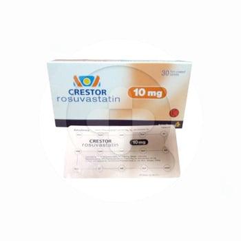 Crestor Tablet adalah obat untuk sebagai terapi tambahan terhadap diet