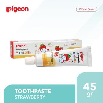 Pigeon Toothpaste Strawberry 45 g harga terbaik 15500