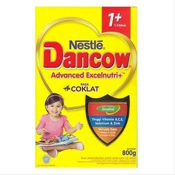 Dancow 1+ Excelnutri+ Usia 1-3 Tahun Rasa Cokelat 800 g harga terbaik