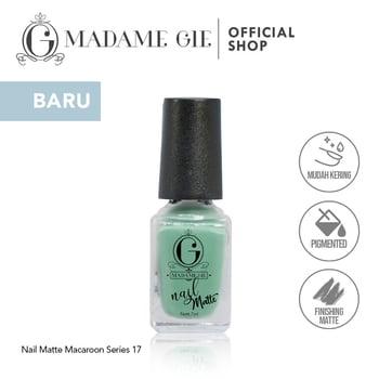 Madame Gie Nail Matte 17 O'Matcha harga terbaik 7200