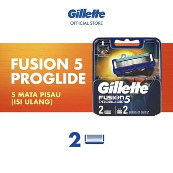 Gillette Fusion Proglide - Refill Pisau Cukur (2 Pcs)