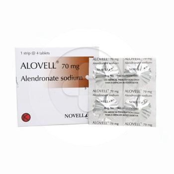 Alovell tablet adalah obat untuk mengatasi dan mencegah osteoporosis pada wanita pascamenopause
