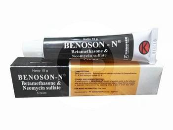 Benoson N Krim 15 g harga terbaik 42436